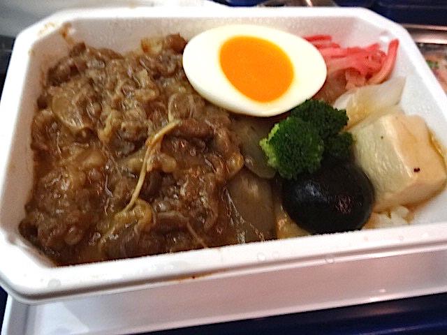 ANA機内食ハワイ